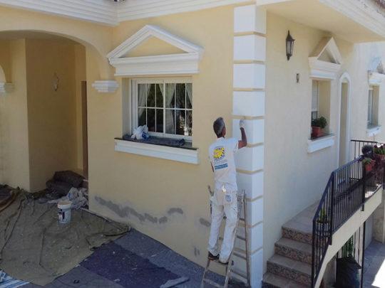 Pintar casa en cala de mijas